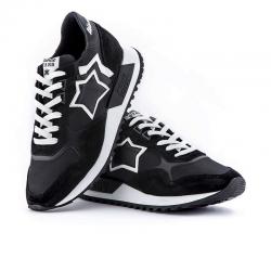 atlantic stars nouveautés sneakers as dracoAS DRACO - NUBUCK, TOILE ET CUIR