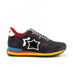 atlantic stars nouveautés sneakers Sneakers AntaresAS ANTARES - NUBUCK ET TOILE - A