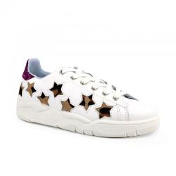 chiara ferragni nouveautés sneakers SneakersCF SNEAK STAR - CUIR ET POULAIN