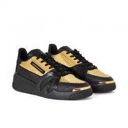 giuseppe zanotti nouveautés sneakers Sneakers TalonGZ H TALON BAS - CUIR IMPRIMÉ CR