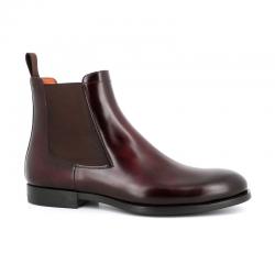santoni nouveautés boots et bottillons Bottines NewportNEWPORT BOOTS - CUIR PATINÉ - BO