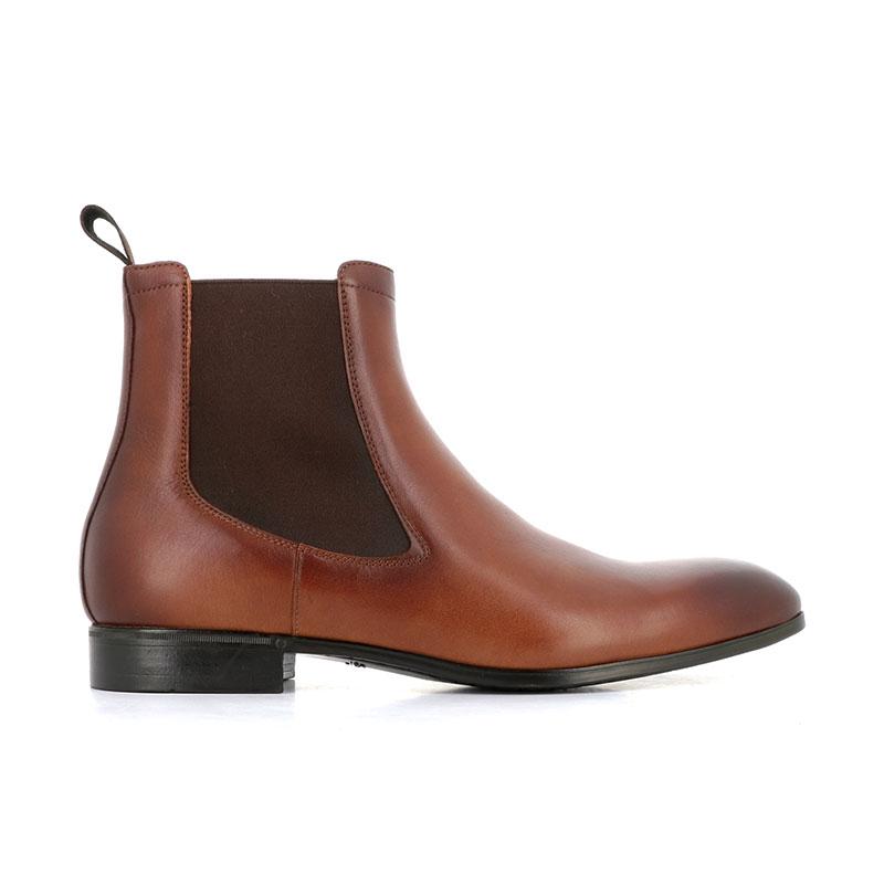 santoni boots et bottillons BottinesSIRANO - CUIR SOUPLE - GOLD