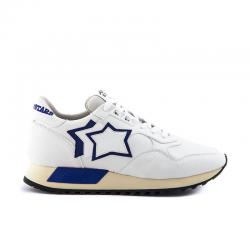 atlantic stars nouveautés sneakers Sneakers DracoAS DRACO - CUIR - BLANC ET DÉTAI