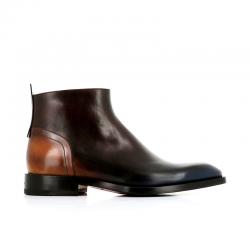 santoni boots et bottillons Bottines ScarlettSCARLETT BOOTS - CUIR PETROL - B