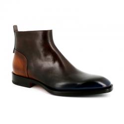 santoni nouveautés boots et bottillons Bottines ScarlettSCARLETT BOOTS - CUIR PETROL - B
