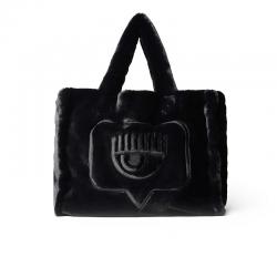 chiara ferragni nouveautés sacs cabas Sac Chiara FerragniCF BAG 005 - VELOURS PELUCHE - N