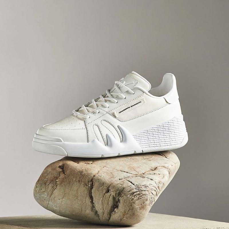 giuseppe zanotti sneakers Sneakers TalonGZ H TALON BAS - CUIR GOMMÉ ET T