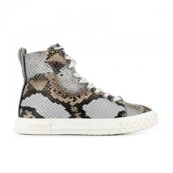 giuseppe zanotti nouveautés sneakers Sneakers Blabber High TopGZ F BLABBER HAUT - CUIR IMPRIMÉ