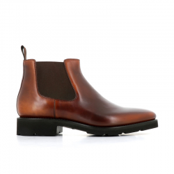santoni nouveautés boots et bottillons Bottines BohemianBOHEMIAN BOOTS - CUIR PATINÉ - G