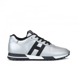 hogan nouveautés sneakers Sneakers H383HH H383 (1) - CUIR ET CUIR GOMMÉ
