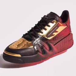giuseppe zanotti sneakers Sneakers TalonGZ H TALON BAS - CUIR IMPRIMÉ CR