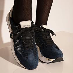 premiata sneakers Sneakers ConnyPREMIATA F CONNY - NUBUCK, CUIR
