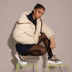 pierre hardy sneakers Sneakers Trek CometPHF COMET F - CUIR IMPRIMÉ ET NÉ