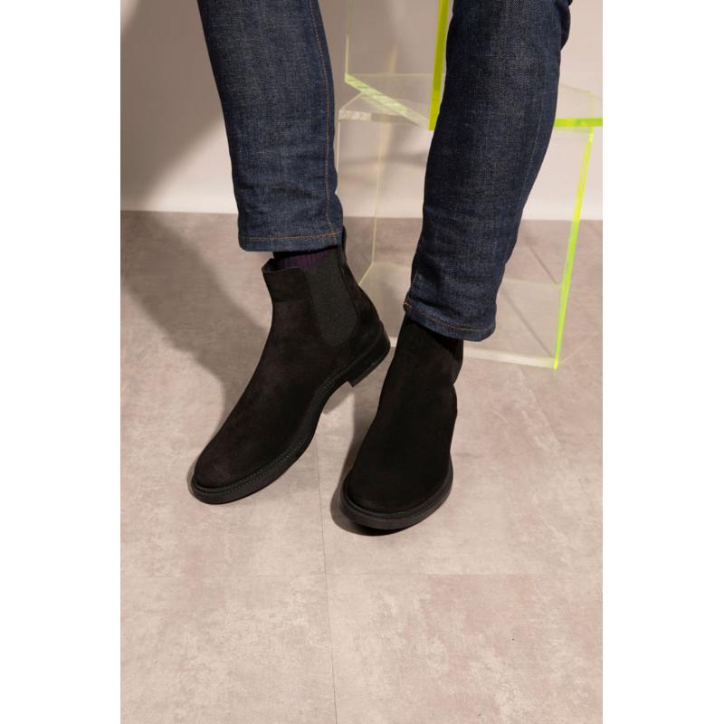 Tod's nouveautés boots et bottillons Boots à élastiquesBASTON 3 - NUBUCK - NOIR