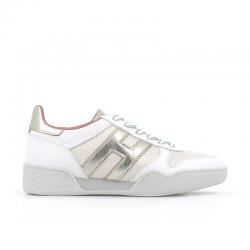 hogan nouveautés sneakers Sneakers H357HF H357 - CUIR ET TISSU TECHNIQU