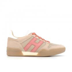 hogan nouveautés sneakers Sneakers H357HF H357 - NUBUCK ET TISSU TECHNI