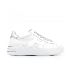 hogan nouveautés sneakers Sneakers H562HF H562 - CUIR ET VERNIS - BLANC