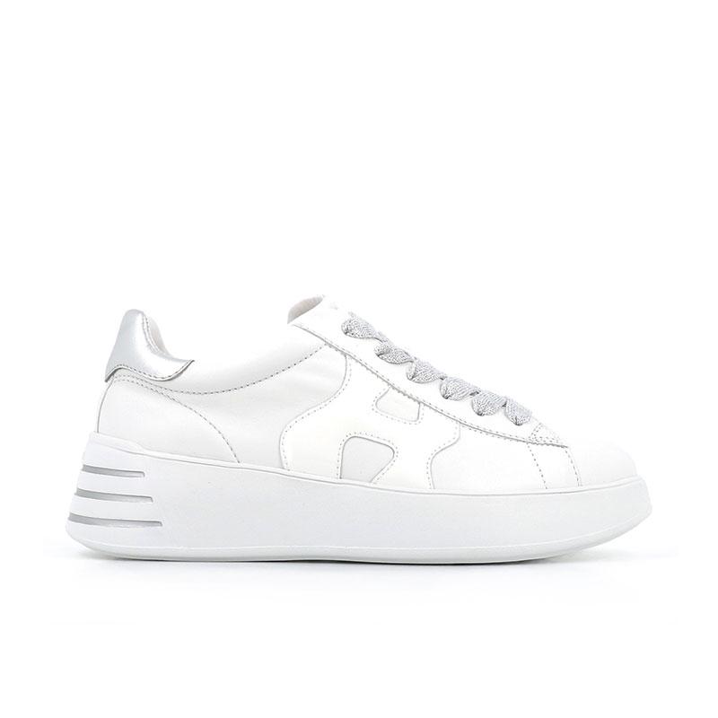hogan sneakers Sneakers H562HF H562 - CUIR ET VERNIS - BLANC