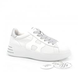hogan nouveautés sandales hf h562HF H562 - CUIR ET VERNIS - BLANC