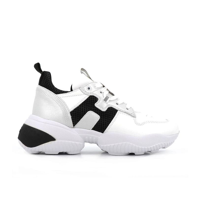 hogan sneakers Sneakers InteractionHF INTERACTION CAPS - CUIR, CUIR