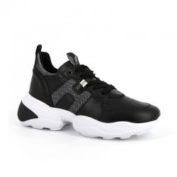 hogan nouveautés sneakers Sneakers InteractionHF INTERACTION CAPS - CUIR, CUIR