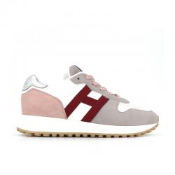 hogan nouveautés sneakers sneakers h383SNEAKERS H383 - NUBUCK ET TISSU