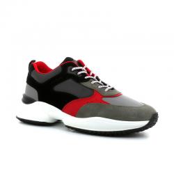 hogan nouveautés sneakers Sneakers InteractionHH INTERACTION 2 - CUIR NUBUCK E