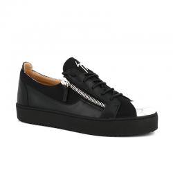 giuseppe zanotti nouveautés sneakers Sneakers FrankieGZ H FRANKIE - CUIR ET TISSU TEC