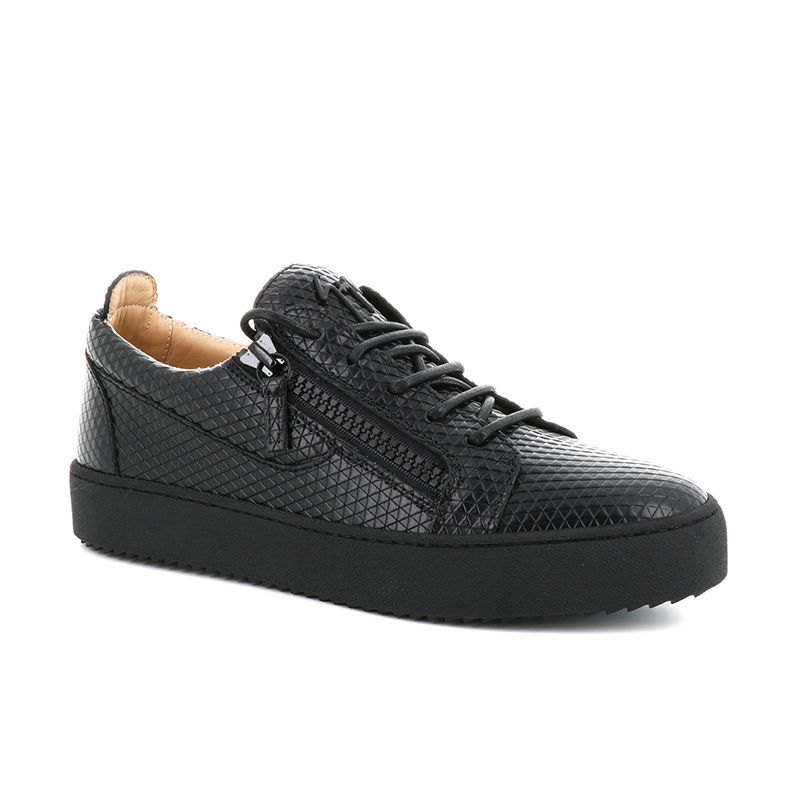 giuseppe zanotti sneakers Sneakers FrankieGZ H FRANKIE - CUIR IMPRIMÉ - NO