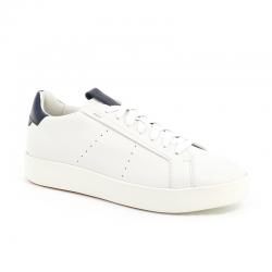 santoni nouveautés sneakers Sneakers WideWIDE - CUIR - BLANC ET DÉTAILS M