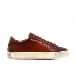 santoni sneakers Sneakers GloriaNEW GLORIA 6 - CUIR SOUPLE ET PA