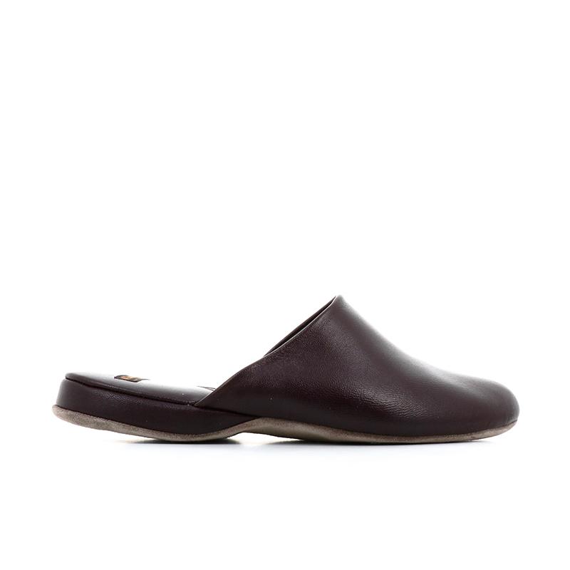 church's chaussures d'intérieur Pantoufles ArranARRAN - CUIR - BURGUNDY