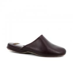 church's nouveautés chaussures d'intérieur Pantoufles ArranARRAN - CUIR - BURGUNDY