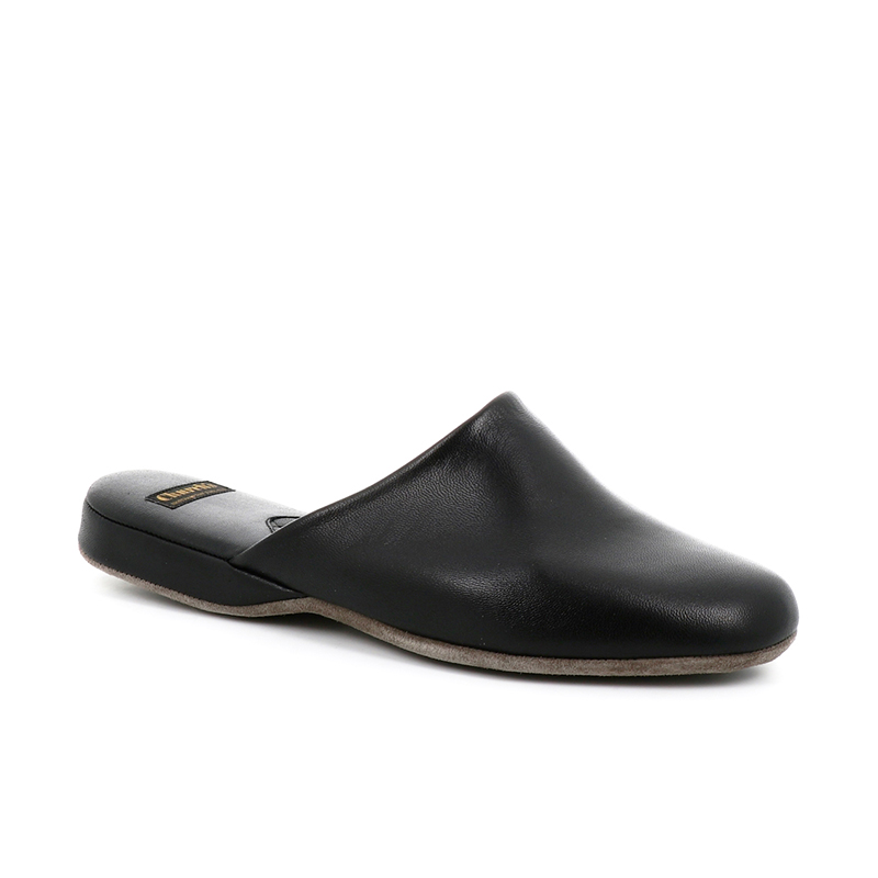 church's chaussures d'intérieur Pantoufles ArranARRAN - CUIR - BLACK