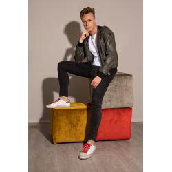 premiata nouveautés sneakers Sneaker StevePREMIATA H STEVE - CUIR BICOLORE