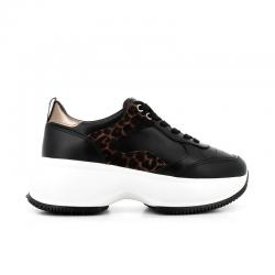 hogan nouveautés sneakers Sneakers Maxi ActiveHF MAXI ACTIVE - CUIR ET NUBUCK
