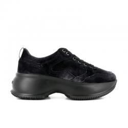 hogan nouveautés sneakers Sneakers Maxi ActiveHF MAXI ACTIVE - VELOURS - NOIR