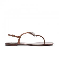 giuseppe zanotti nouveautés sandales Sandales à bijouxGZ F NU-PIED BIJOUX2 - CUIR ET B