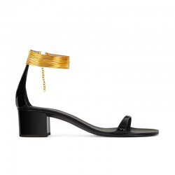 giuseppe zanotti nouveautés sandales Sandales Bracelet ChevilleGZ F SAND T4 VERNICE - CUIR VERN