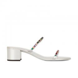 giuseppe zanotti nouveautés sandales Sandales StrassGZ F SANDALE MULE T4 - CUIR - AR