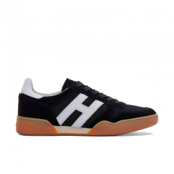 hogan nouveautés sneakers Sneakers H357HH H357 - NUBUCK ET TISSU TECHNI