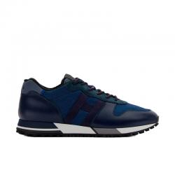 hogan nouveautés sneakers Sneakers H383HH H383 (1) - CUIR ET TISSU TECH