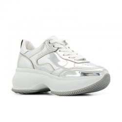 hogan nouveautés sneakers Sneakers Maxi ActiveHF MAXI ACTIVE - CUIR MIROIR - A