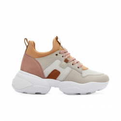 hogan sneakers Sneakers InteractionHF INTERACTION CAPS - CUIR, NUBU