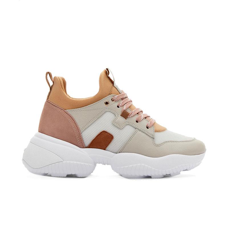hogan sneakers Sneakers InteractionHF INTERACTION CAPS - CUIR, NUBU