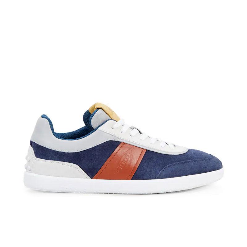 tod's sneakers tod's sneakerTOD'S SNEAKER - NUBUCK ET CUIR -