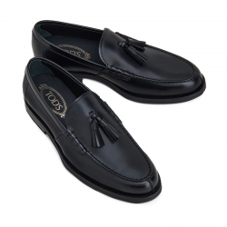 tod's mocassins et slippers Mocassins à pampillesTODCLASSIC PAMPILLE - CUIR GLACÉ