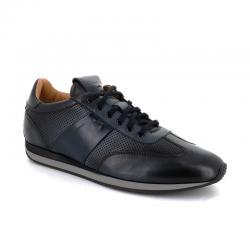 santoni nouveautés sneakers Sneakers LacourtLACOURT - CUIR GLACÉ ET PATINÉ -