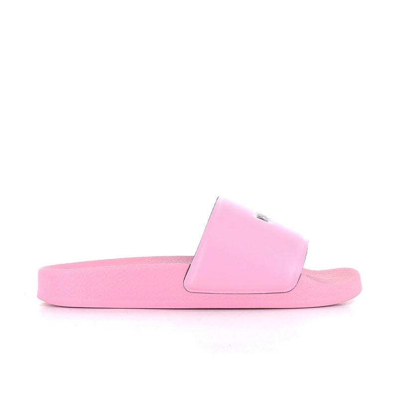 msgm sandales SlidesMSGM F SLIDE - PVC - ROSE ET LOG