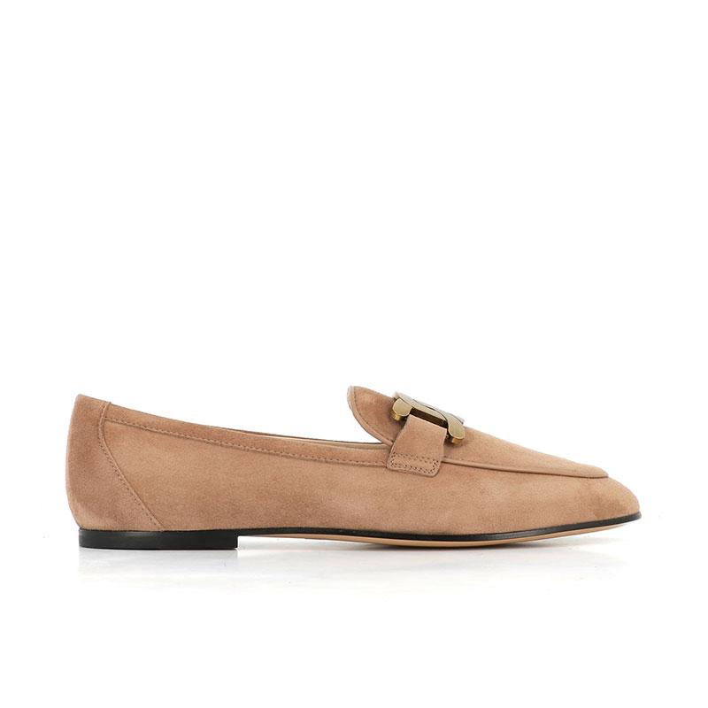 tod's mocassins & slippers Mocassins CatenaCATENA LOAFER 2 - NUBUCK - BEIGE